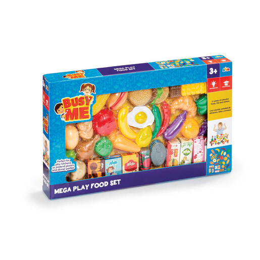 Picture of Busy Me Mega Play Food Set