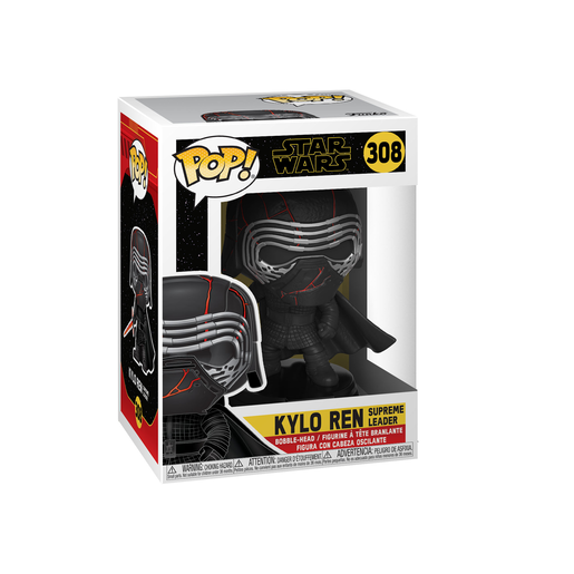 Picture of Funko Pop! Movies: Star Wars The Rise of Skywalker - Kylo Ren Supreme Leader Bobble-Head