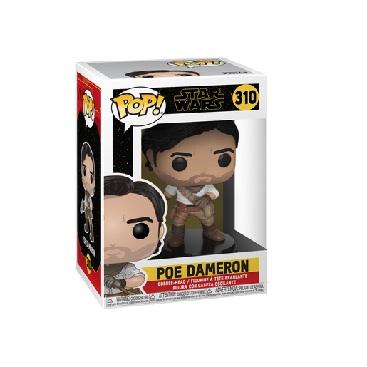 Picture of Funko Pop! Movies: Star Wars The Rise of Skywalker - Poe Dameron Bobble-Head