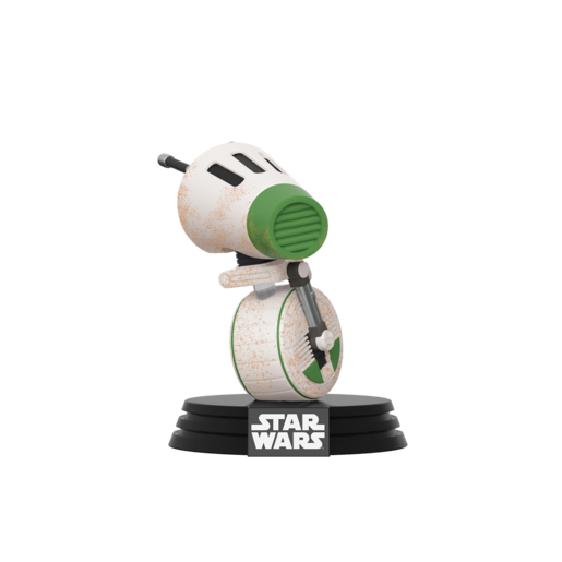 Picture of Funko Pop! Movies: Star Wars The Rise of Skywalker - D-0 Bobble-Head
