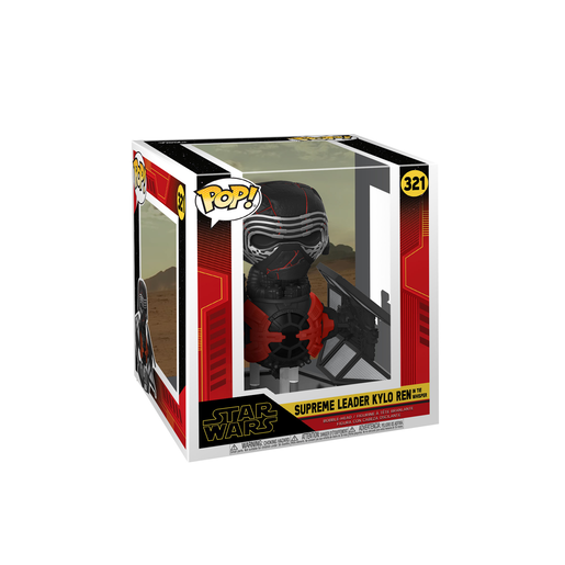 Picture of Funko Pop! Movies: Star Wars The Rise of Skywalker - Supreme Leader Kylo Ren In The Whisper Bobble-Head