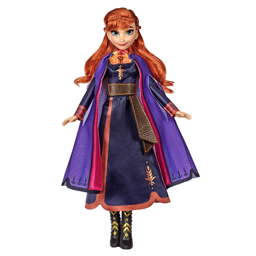 Picture of Disney Frozen 2 Singing Doll with Light-Up Dress - Anna