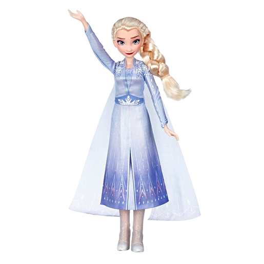Picture of Disney Frozen 2 Singing Doll with Light-Up Dress - Elsa