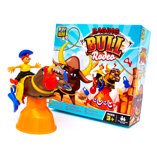 Picture of Play and Win Raging Bull Rodeo