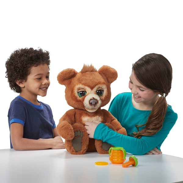 FurReal Cubby the Curious Bear at Smyths Toys