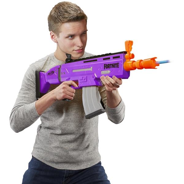 Nerf Fortnite AR-E from Smyths Toys