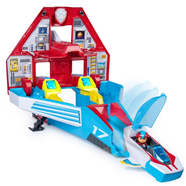 Paw Patrol Super Paws Mighty Jet Command Centre from Smyths Toys