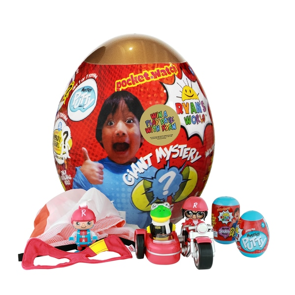 Ryan's World Giant Mystery Egg – Gold