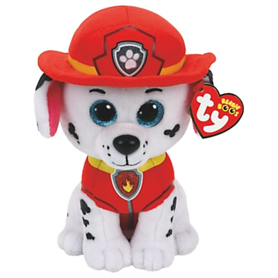 Picture of Ty Paw Patrol Marshall 15cm Beanie Soft Toy