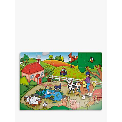 Picture of John Lewis & Partners My Farm Jigsaw Puzzle, 20 Pieces