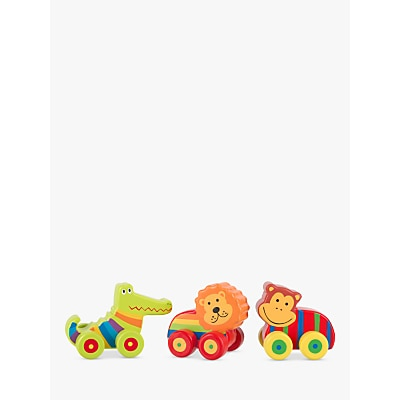 Picture of Orange Tree First Jungle Vehicles, Pack of 3