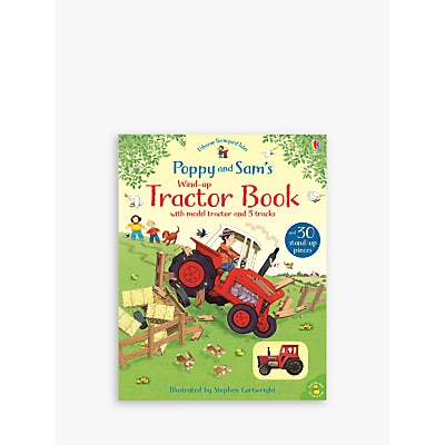 Picture of Poppy & Sam's Wind-Up Tractor Children's Book