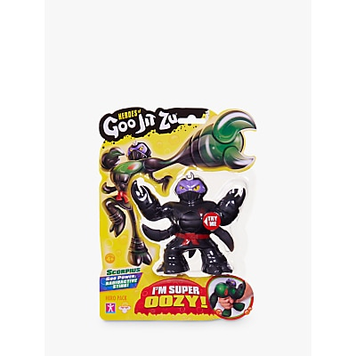 Picture of Heroes of Goo Jit Zu Scorpius the Scorpion Squishy Action Figure