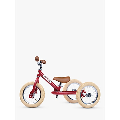 Picture of Trybike 2-in-1 Vintage Balance Trike, Red