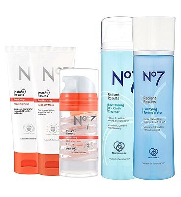 Picture of No7 Cleansed and Radiant Collection