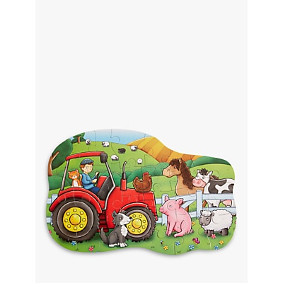 Picture of John Lewis & Partners Tractor Floor Puzzle