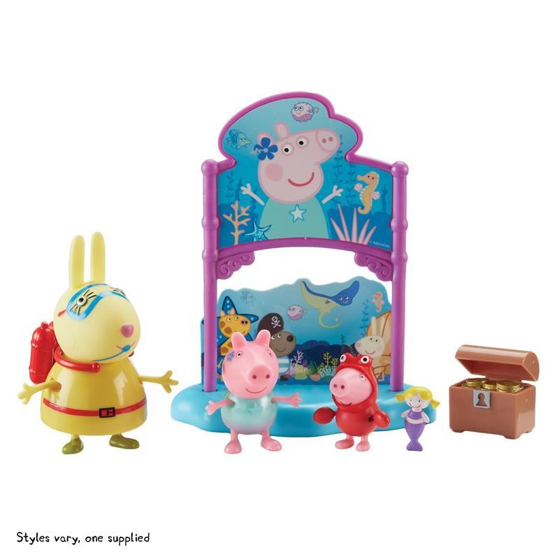 Picture of Peppa Pig Themed Playset - Peppa's Under The Sea Party