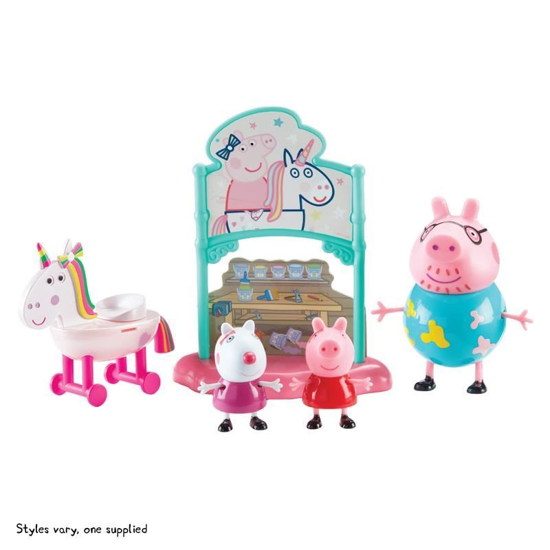 Picture of Peppa Pig Themed Playset - Peppa's Magical Unicorn