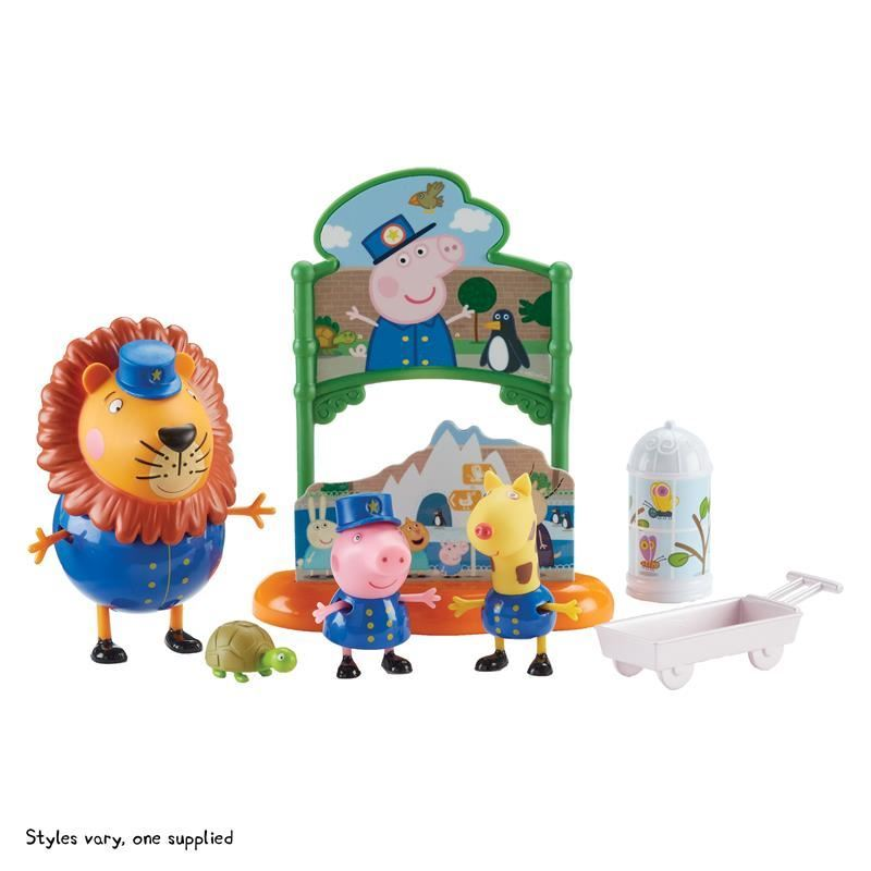 Picture of Peppa Pig Themed Playset - Peppa's Day At The Zoo