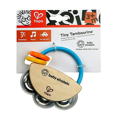 Picture of Baby Einstein Hape Tiny Tambourine Wooden Musical Toy