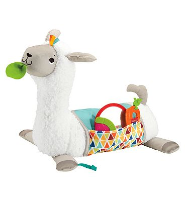 Picture of Fisher Price Grow-With-Me Tummy Time Llama