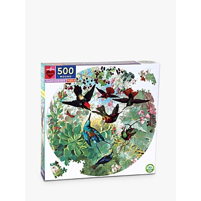 Picture of eeBoo Hummingbirds Jigsaw Puzzle, 500 Pieces