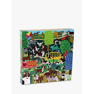Picture of eeBoo Monika Forsberg Dogs in the Park Jigsaw Puzzle, 1000 Pieces