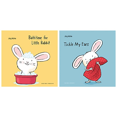 Picture of Tickle My Ears and Bathtime For Little Rabbit Children's Book Set