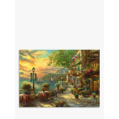 Picture of Gibsons French Riviera Cafe Jigsaw Puzzle, 1000 Pieces