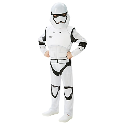 Picture of Star Wars Episode VII: The Force Awakens Stormtrooper Children's Costume, 5-6 years