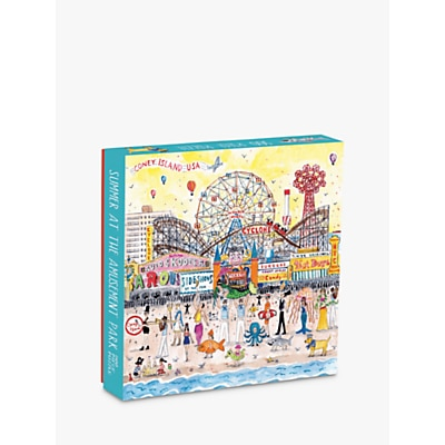 Picture of Galison Summer at the Amusement Park Jigsaw Puzzle, 500 Pieces