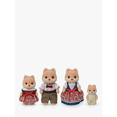 Picture of Sylvanian Families Caramel Dog Family