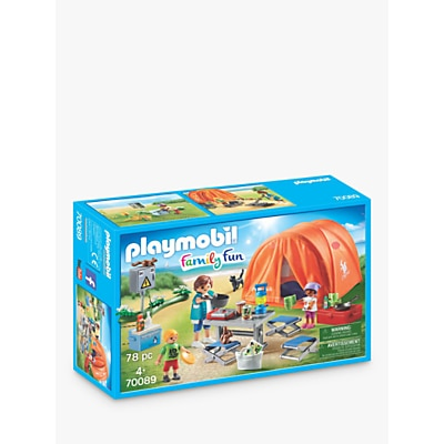 Picture of Playmobil Family Fun 70089 Camping Trip