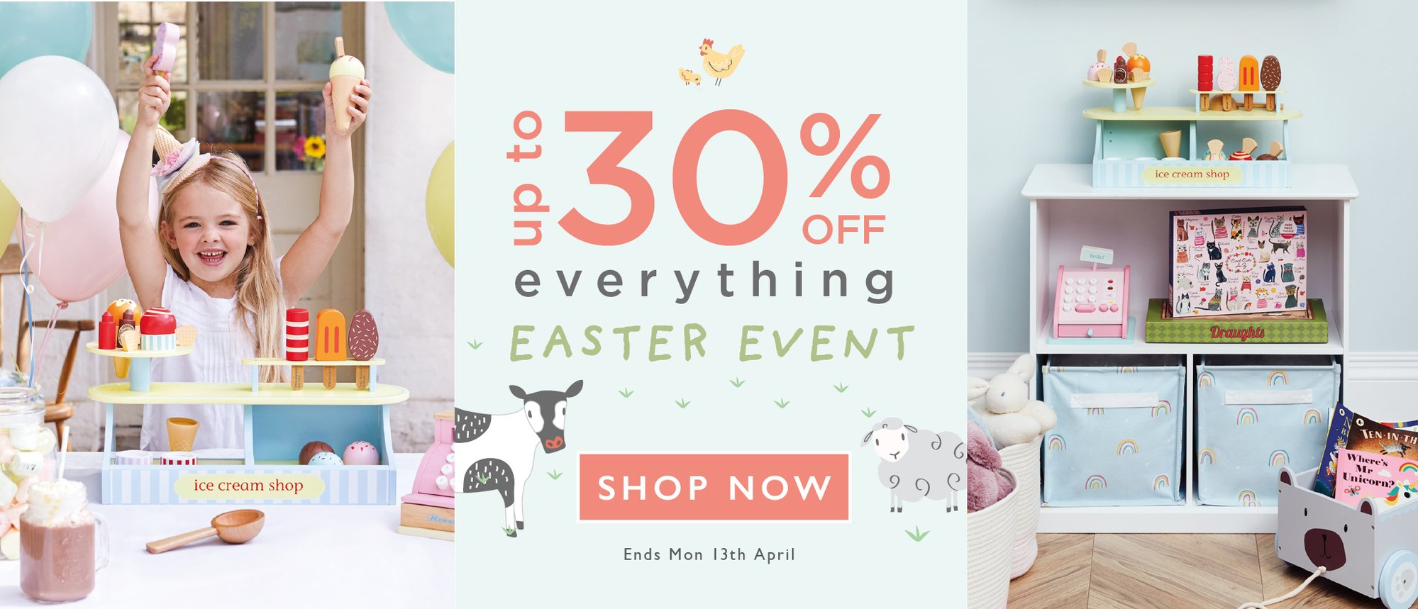GTLC up to 30 per cent off everthing this Easter.