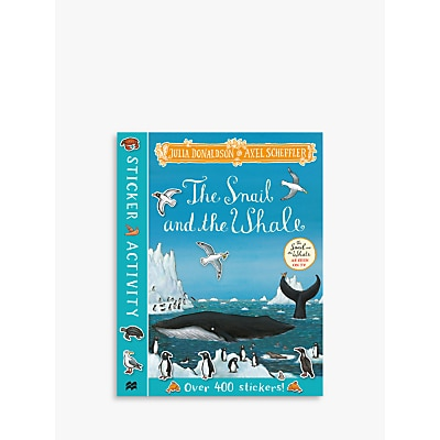 Picture of The Snail & The Whale Children's Sticker Book