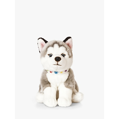 Picture of Living Nature Husky Puppy Soft Toy