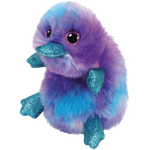 Picture of Ty Beanie Boo 15cm Soft Toy - Zappy The Platypus