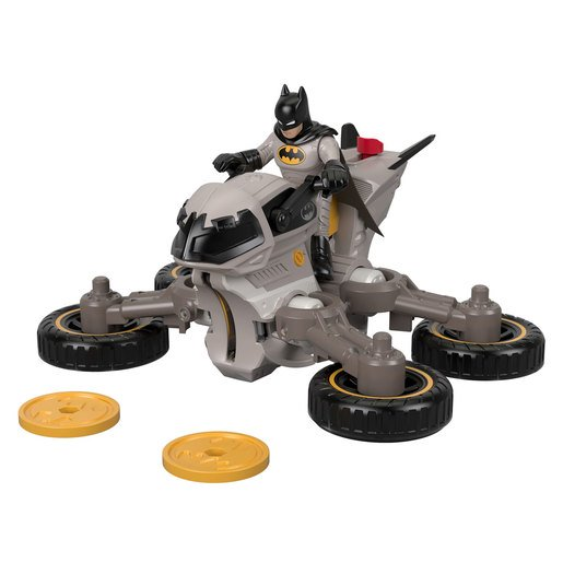 Picture of Fisher-Price Imaginext DC Super Friends - Batman and Batcycle