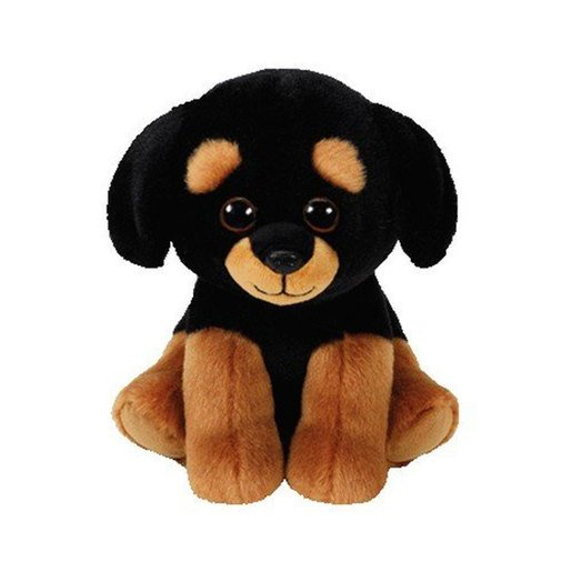 Picture of Ty Beanie Babies 15cm Soft Toy - Trevour The Rottweiller