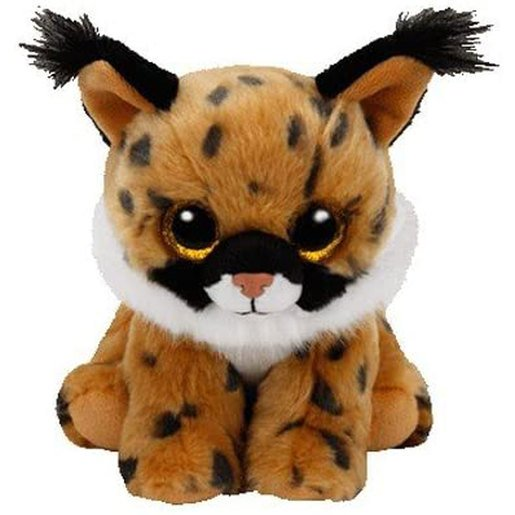 Picture of Ty Beanie Babies 15cm Soft Toy - Larry The Lynx