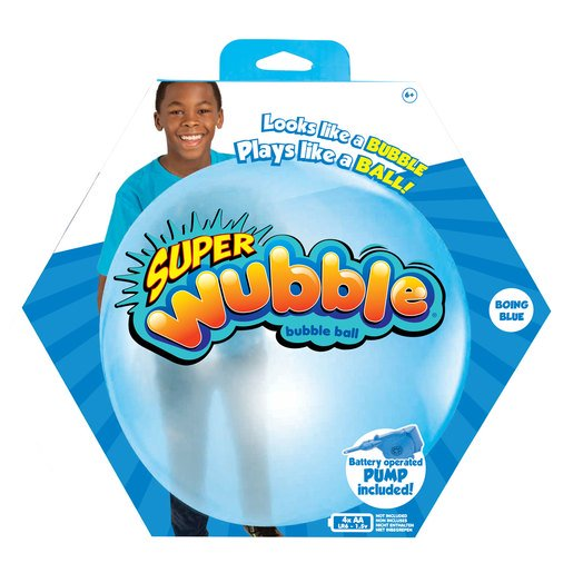 Picture of Wubble Bubble with Pump - Blue