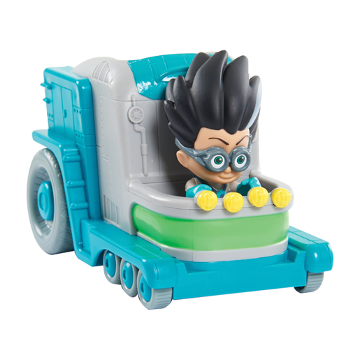 Picture of PJ Masks Vehicle and Figure - Romeo's Lab