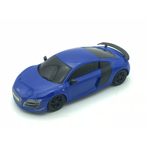 Picture of 1:24 Remote Control Car - Blue Audi R8 GT