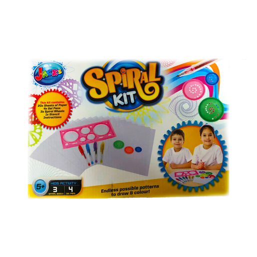 Picture of Jack's Spiral Drawing Kit