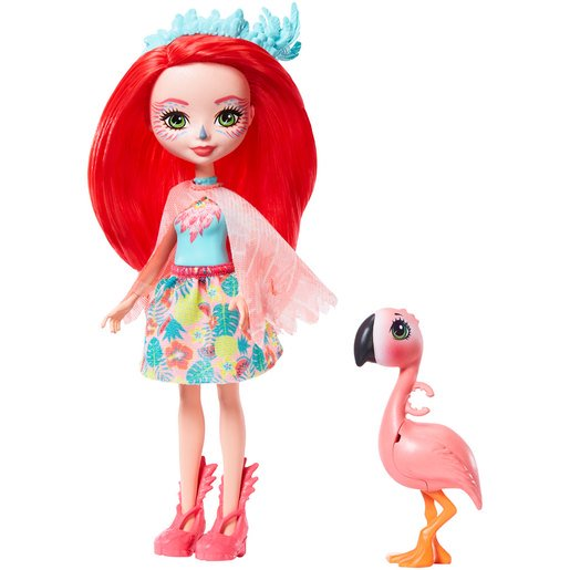 Picture of Enchantimals 15cm Doll - Fanci Flamingo and Swash