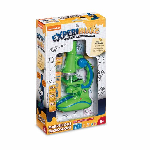 Picture of Nickelodeon Experimake Marvellous Microscope - Green