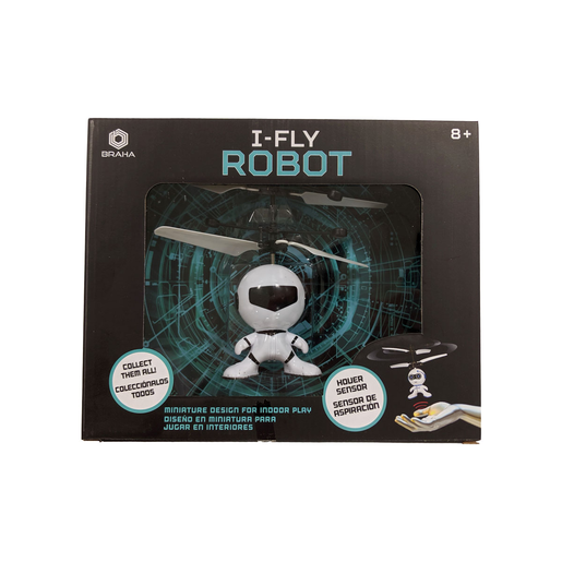 Picture of Braha i-Fly Infrared Control Robot - Black