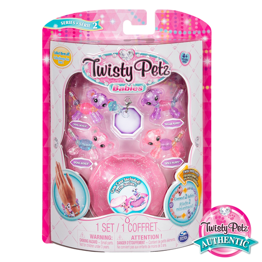 Picture of Twisty Petz Twin Baby Four Pack - Koala and Puppies