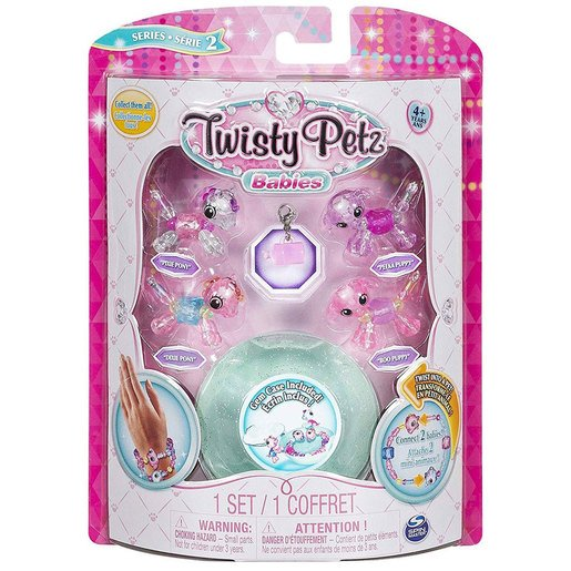 Picture of Twisty Petz Twin Baby Four Pack - Pony and Puppies