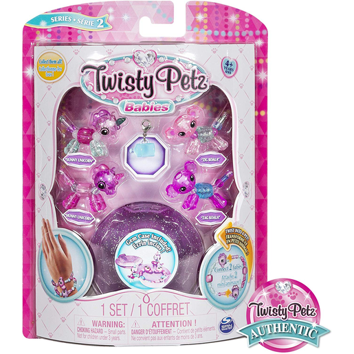 Picture of Twisty Petz Twin Baby Four Pack - Unicorns and Koala's